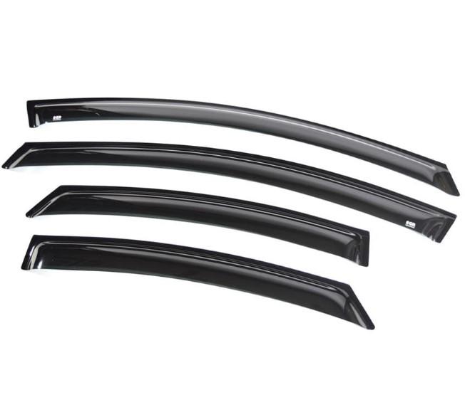 Дефлекторы боковых окон темные EGR 92431032B Ford Mondeo 2007-2014 декоративные накладки на ограничители дверей для ford mondeo 2014 по н в