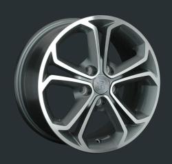 Диск колесный LS Replay OPL10 6.5xR15 5x105 ET39 ЦО56.6 серый глянцевый с полированной лицевой частью 827301