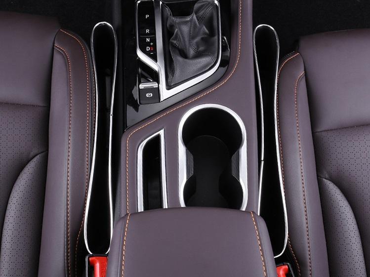 Фото - Ящик для хранения между креслом Changan CS35 Plus 2019- коврик для багажника черный с красным 2 элемента для changan cs35 plus 2019