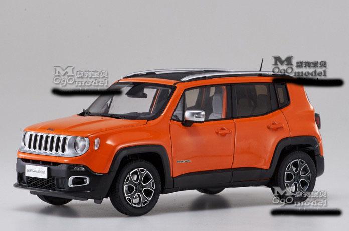 Модель Jeep Renegade в масштабе 1:18