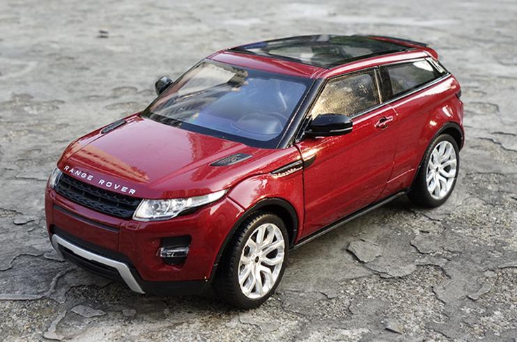 Модель в масштабе 1:24 Land Rover Range Rover Evoque 2015 - модель land rover discovery в масштабе 1 18