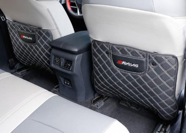 Противоударные накладки на сидение 2 элемента Toyota RAV4 2019-