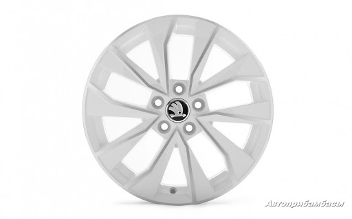 Диск колесный R16 Italia (белый) 6V0071496AFM9 для Skoda Rapid 2020 - колесный диск r16 52910f2200 для hyundai elantra 2016