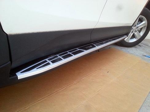 Пороги BMW Style для Toyota RAV4 (2013 - 2015)