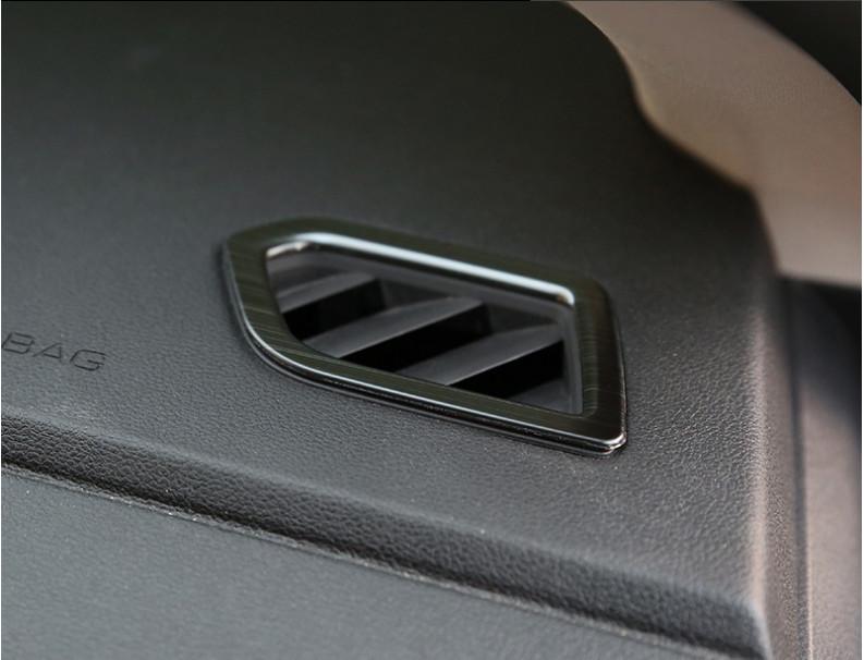 Фото - Накладки на передние воздуховоды для Haval F7 (Хавал Ф7) 2018 + молдинг боковых окон хром для haval f5 хавал ф5 2019