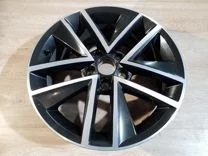 Диск колесный R16 Clubber (черный блестящий) 5J5601025CJX2 для Skoda Rapid 2020 - колесный диск r16 52910f2200 для hyundai elantra 2016