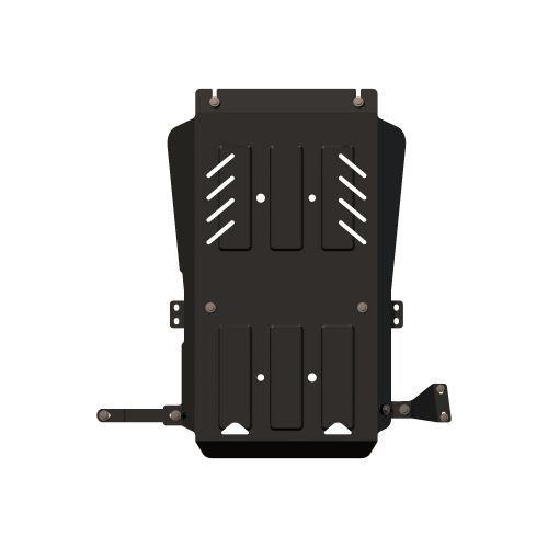 Защита для кпп и раздатки SHERIFF 141145 для Mitsubishi Pajero Sport (2008 - 2016)