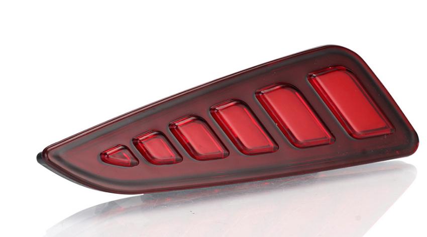 Комплект светодиодных отражателей в задний бампер для Toyota C-HR 2018 - светоотражатель в задний бампер chn для toyota c hr 2018