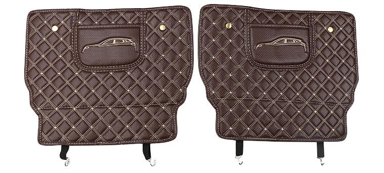 Противоударные накладки на сидение (коричневые) Honda CRV 2020-
