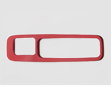 Фото - Накладка на ручку багажника красная для Honda C-RV 2017- накладка на порог багажника для honda crv 2017