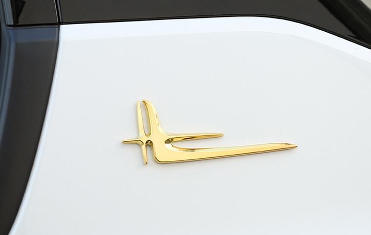 Эмблема на кузов (золото) Changan CS35 Plus 2019-