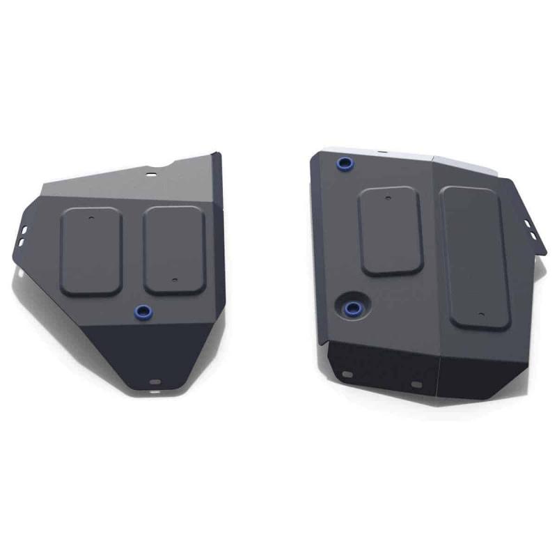 Защита картера, радиатора Rival 111.2742.1 Isuzu D-Max 2012-