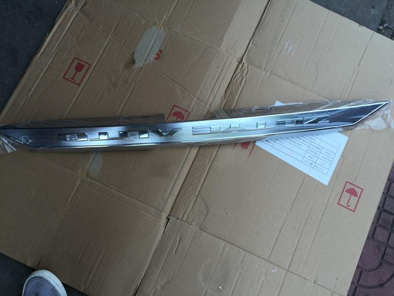 Хромированная вставка двери багажника для Zotye T600 2013 - 2018 амортизаторы крышки багажника zotye t600 зоти т600 2013 2020