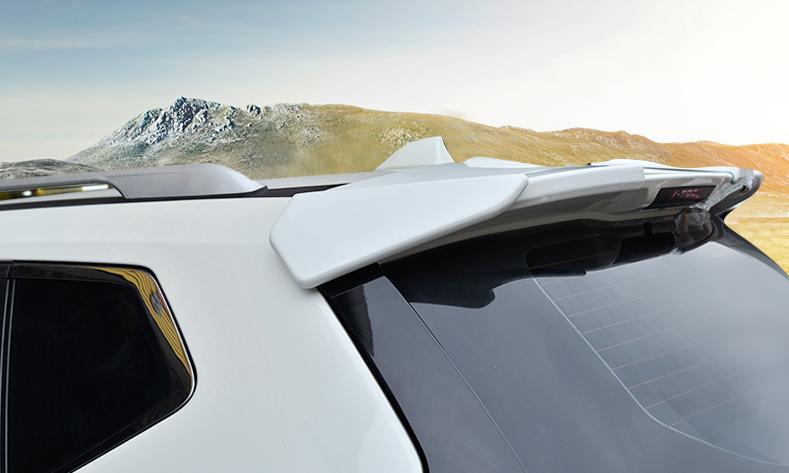 Спойлер крышки багажника Stitch для Nissan (Ниссан Экстрейл) X-TRAIL 2018 - 2019
