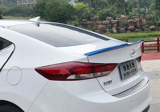 Спойлер крышки багажника Wing для Hyundai Elantra 2016 - спойлер крышки багажника kor для hyundai elantra 2016