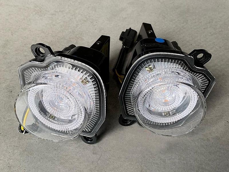 Поворотники светодиодные для Suzuki Jimny NEW 2019 - комплект противотуманных светодиодных фар в передний бампер osram led nsw osr для suzuki jimny new 2019