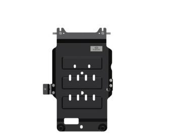 накладки на пороги с led подсветкой и надписью stinger kst dsax 01 для kia stinger 2018 Защита трансмиссии Hyundai/KIA сталь R4010J5100 Kia Stinger (1G) 2017-