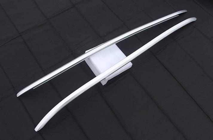 Рейлинги на крышу (черный / серебро) для Mersedes GLE gle