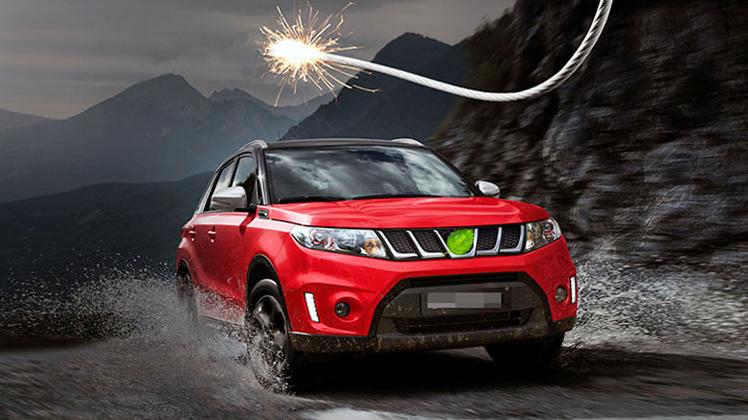 Радиаторная решетка European Edition для Suzuki new Vitara 2015 -