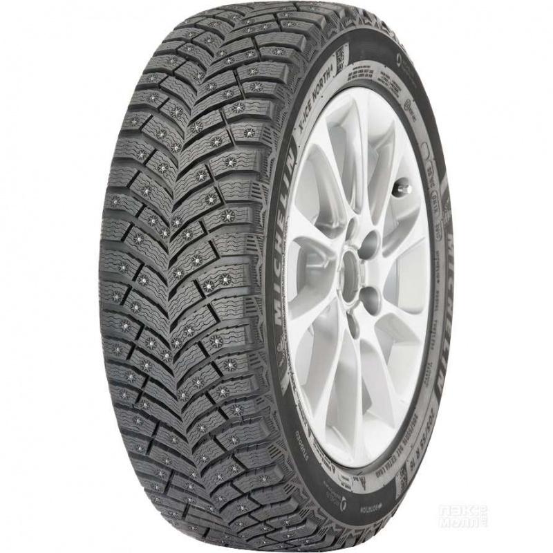 Шина автомобильная Michelin X- ICE NORTH 4 205/65 R16, зимняя, шипованная летние шины michelin 205 45 r16 87w pilot sport ps3