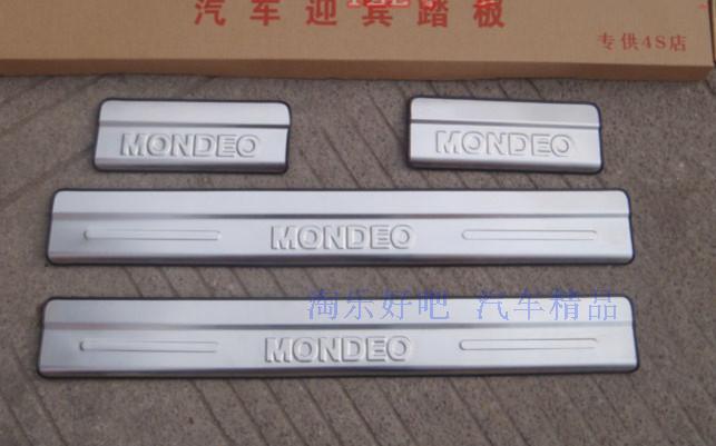 Накладки на пороги для Ford Mondeo IV (2007 - 2014)