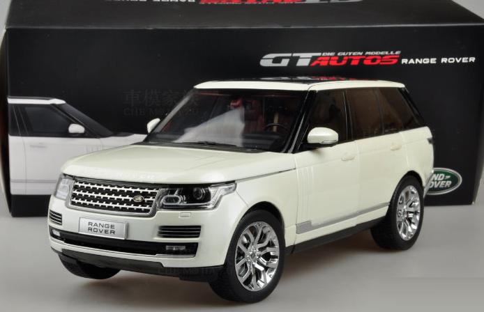 Модель Land Rover RANGE ROVER в масштабе 1:18