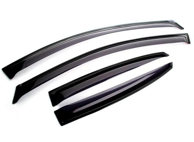 Фото - Дефлекторы окон Cobra Tuning для Lada XRAY 2016 - дефлекторы окон cobra tuning для renault arkana рено аркана