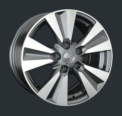 Диск колесный LS Replay NS137 6.5xR16 5x114.3 ET45 ЦО66.1 серый глянцевый с полированной лицевой частью S030713