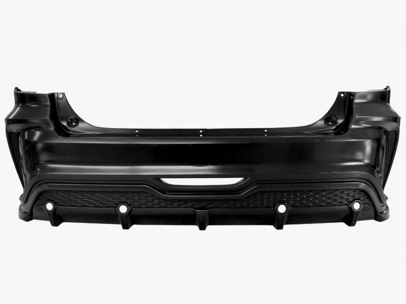 Бампер задний (без покраски) YurolTuning XR-01.03.00 Lada Vesta 2015 -