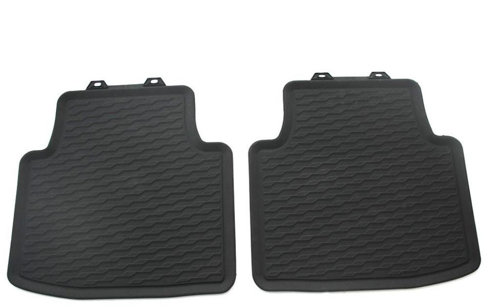 Коврики в салон задние (резина) VAG 3G806151282V для Volkswagen Arteon 2017 - коврики салона задние 5na06151282v для volkswagen tiguan 2017