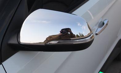 Хромированные накладки на боковые зеркала для Hyundai Creta