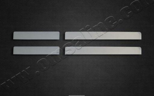 накладки на дверные пороги для renault koleos 2017 Накладки на дверные пороги, нерж, 4 части для Renault Kaptur 2016 -