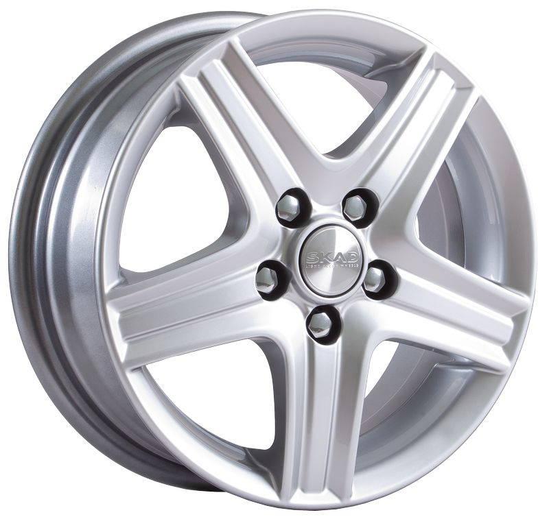 Диск колесный СКАД Магнум 5,5xR14 4x100 ET49 ЦО56,6 серебристый 1460308