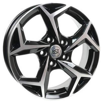 Диск колесный RST R066 6.5xR16 5x114.3 ET40 ЦО60.1 черный с полированной лицевой частью rd833526 недорого