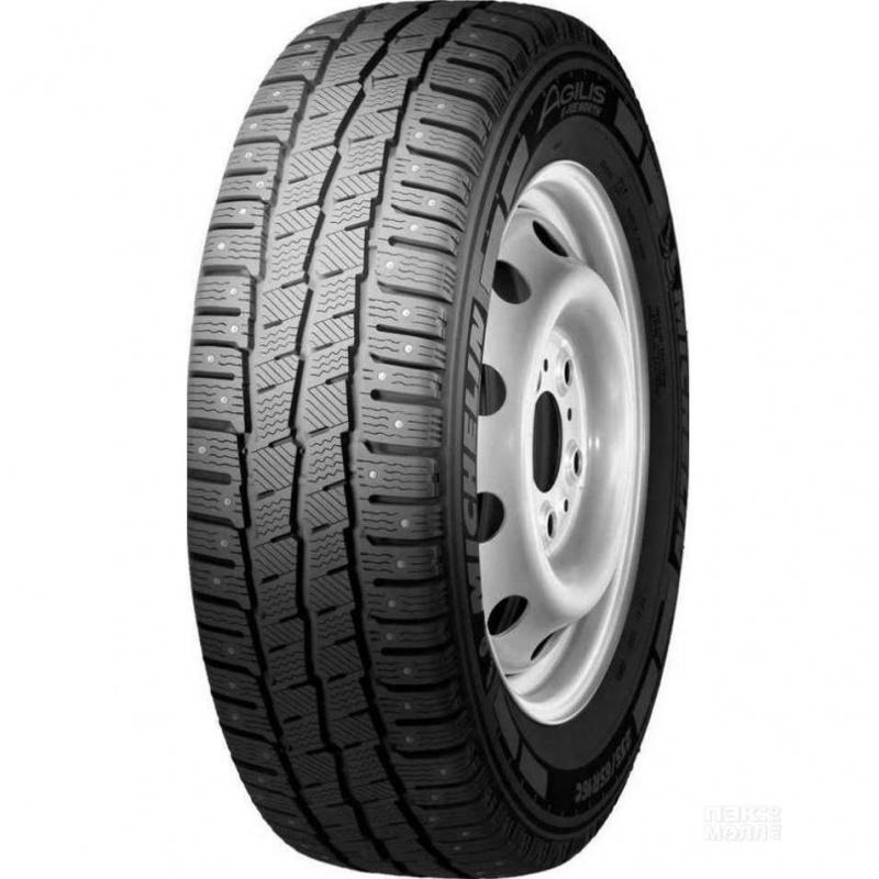 Шина автомобильная Michelin AGILIS X-ICE NORTH 195/75 R16, зимняя, шипованная летние шины michelin 195 65 r16c 104 102r agilis