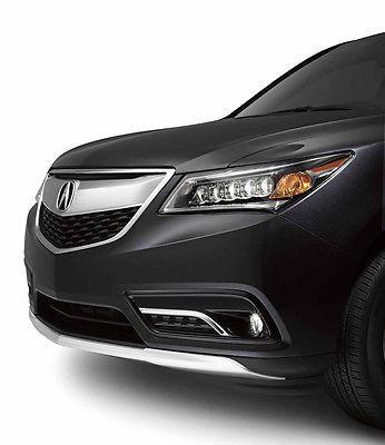 Накладка переднего бампера Acura для MDX 2014 -