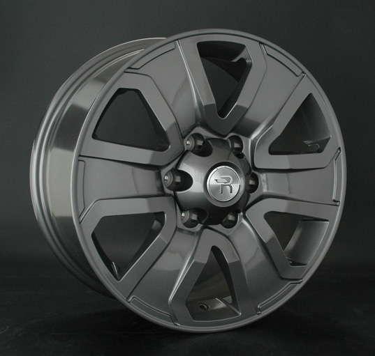 Диск колесный Replay TY188 7,5xR18 6x139,7 ET25 ЦО106,1 серый темный глянцевый 033386-070640007 недорого