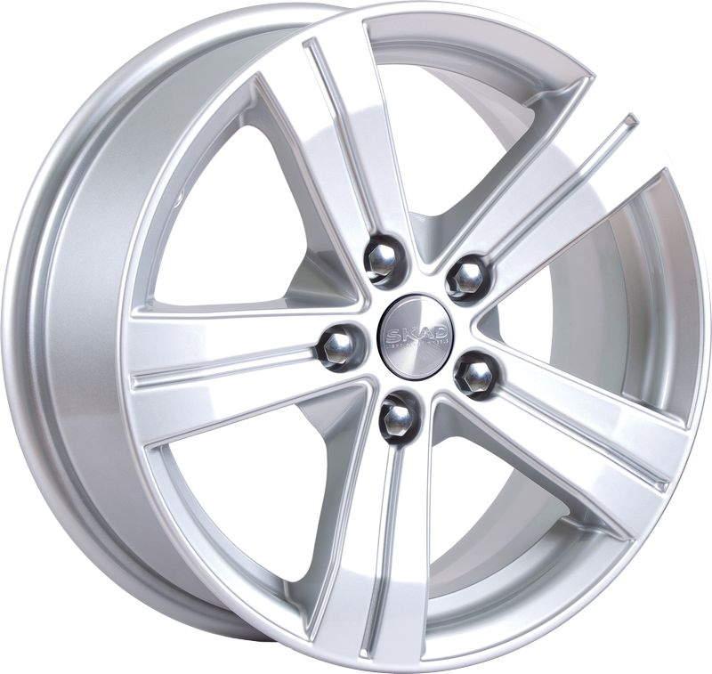 Фото - Диск колесный СКАД Мицар 6,5xR16 5x112 ET38 ЦО67,1 серебристый 0350408 диск колесный скад мицар 6 5xr16 5x112 et38 цо67 1 серебристый 0350408