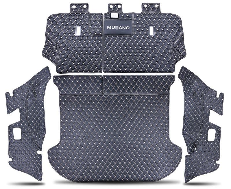 3D обшивка в багажник (кожаные, с заходом на спинки сидений) Zsnake Nissan Murano 2016-