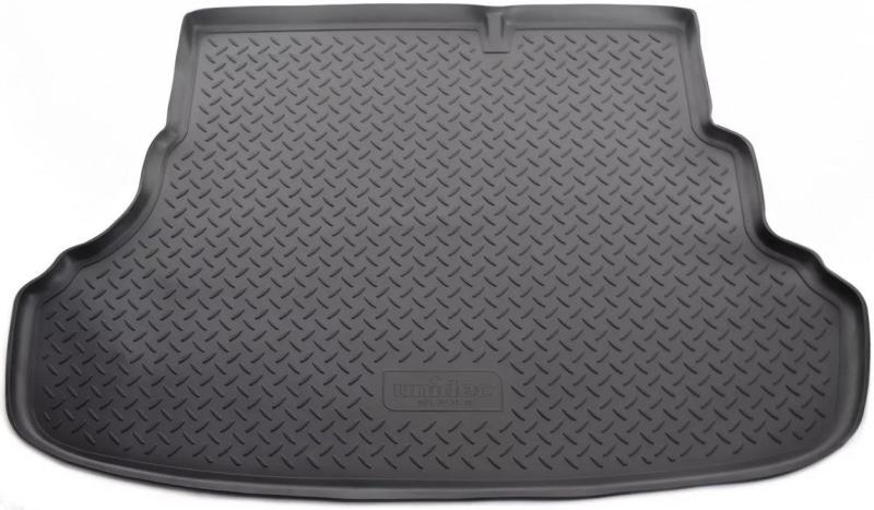 Коврик багажника (полиуретан), чёрный (SD) Norplast NPL-P-31-35 для Hyundai Solaris 2011- коврик багажника norplast npl p 31 12 черный