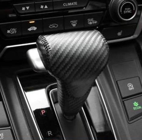 Накладка на рычаг передач (карбон) Honda CRV 2020-