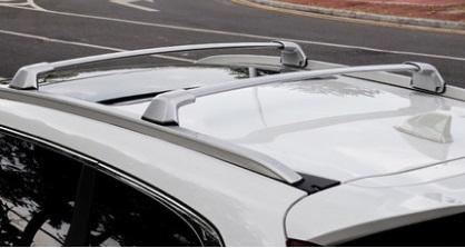 Поперечные дуги для багажника (серебро) Honda C-RV 2017-