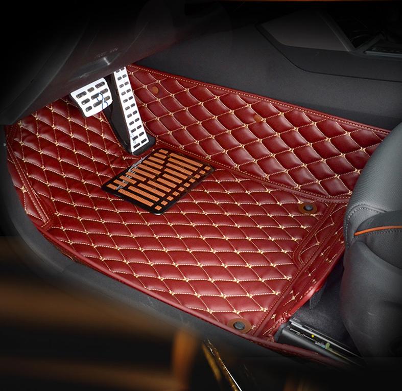 3D коврики в салон кожаные Hyundai Tucson 2015-