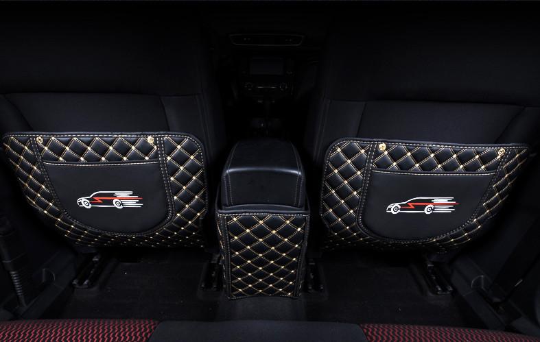 3D обшивка нижней части сидений (кожаная) Nissan Qashqai 2019 -