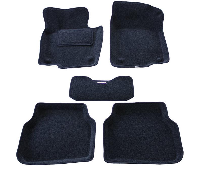 Коврики салона 3D текстильные для Mitsubishi Outlander XL (2007-2011)
