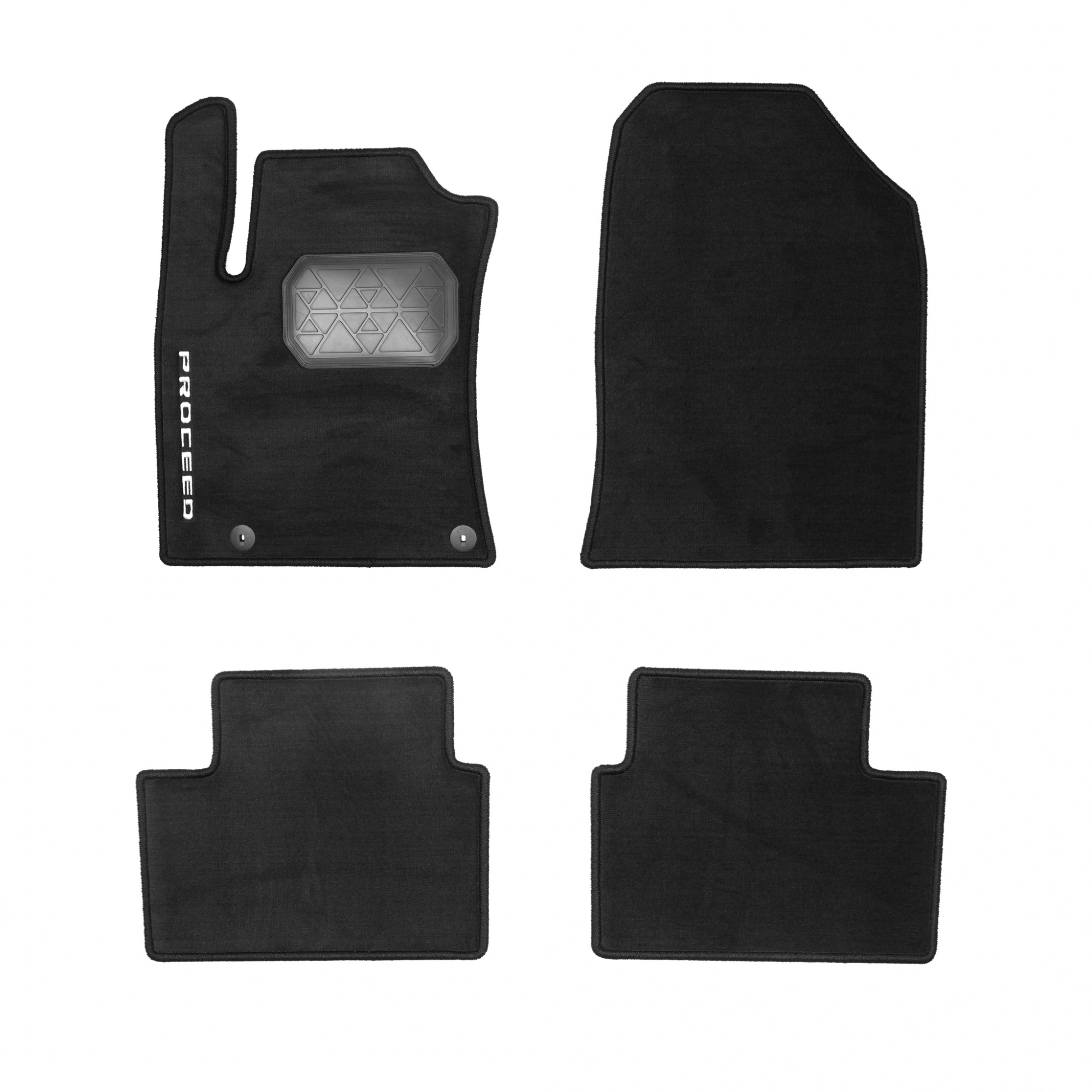 Коврики в салон Hyundai/KIA велюр черный R8140J7300 KIA ProCeed 2019- коврики в салон hyundai kia велюр черный a2143ade00st kia ceed 3g 2018