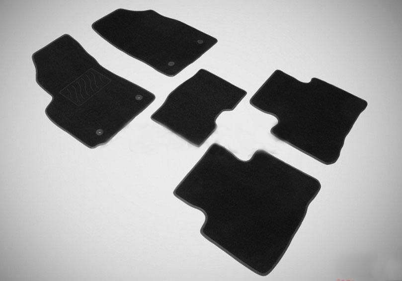 Коврики в салон Seintex текстиль черный 85472 Geely Emgrand X7 (1G) рест. 2018- 3d коврики в салон текстильные geely atlas 2018