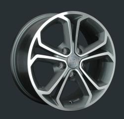 Диск колесный LS Replay GN89 6.5xR15 5x105 ET39 ЦО56.6 серый глянцевый с полированной лицевой частью S033230