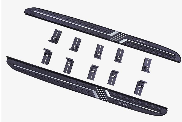 автоматические боковые подножки пороги для volkswagen teramont 2017 Боковые подножки, пороги Jiayitian (алюминиевый сплав) CHN для Volkswagen Teramont 2017 -