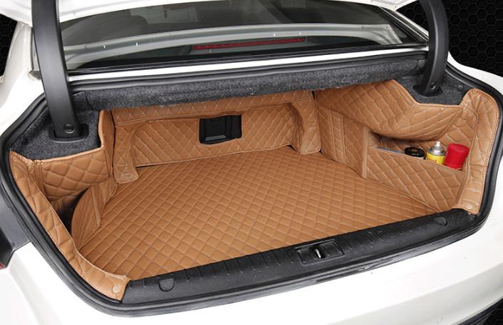 Фото - 3D коврики в багажник Geely Emgrand GT 2017 - защита картера и кпп стальная chn для geely emgrand 7 2017
